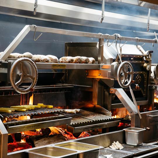 Prime+Proper - open grill