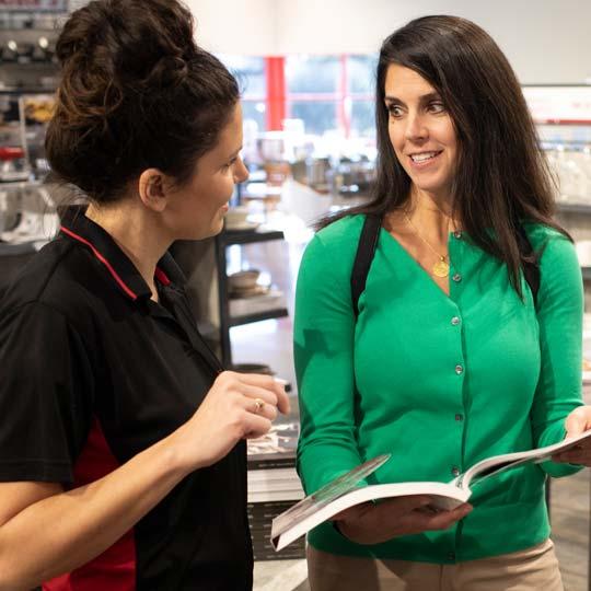 Customer Service - showroom consultation
