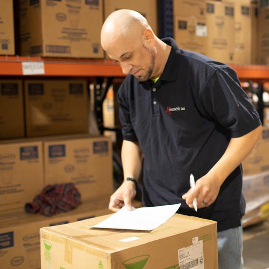 Warehouse - project management