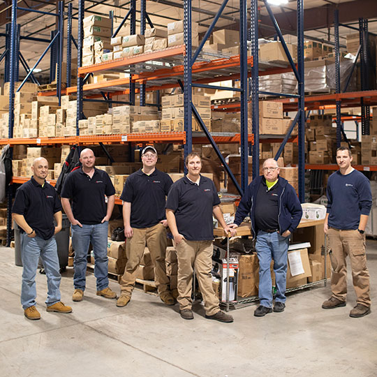 Warehouse crew